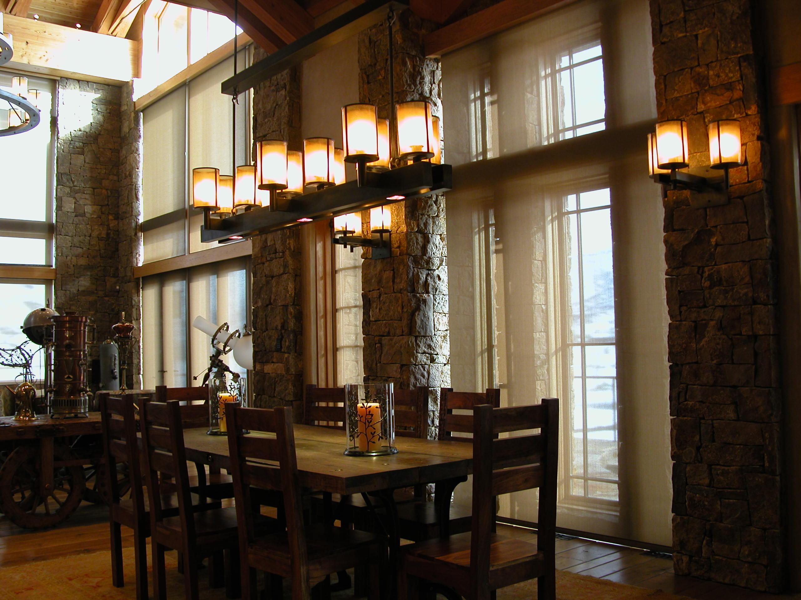Custom Lighting Lodge Lighting Long