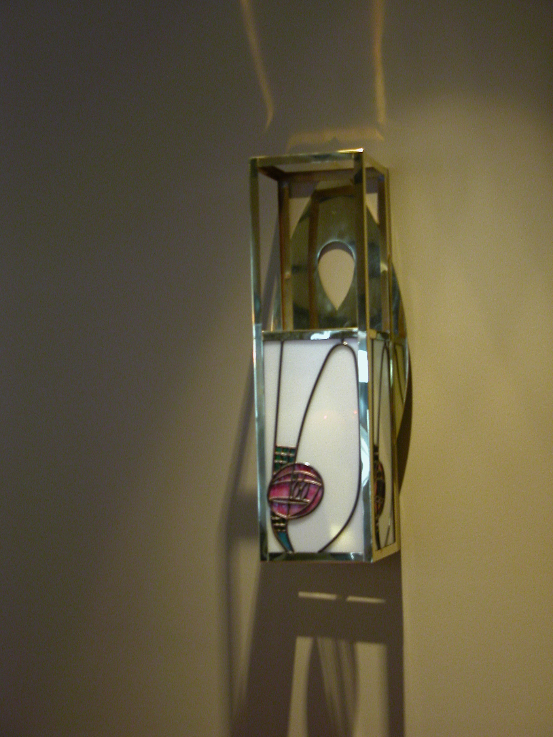 Custom Lighting Mackintosh Rose Sconce