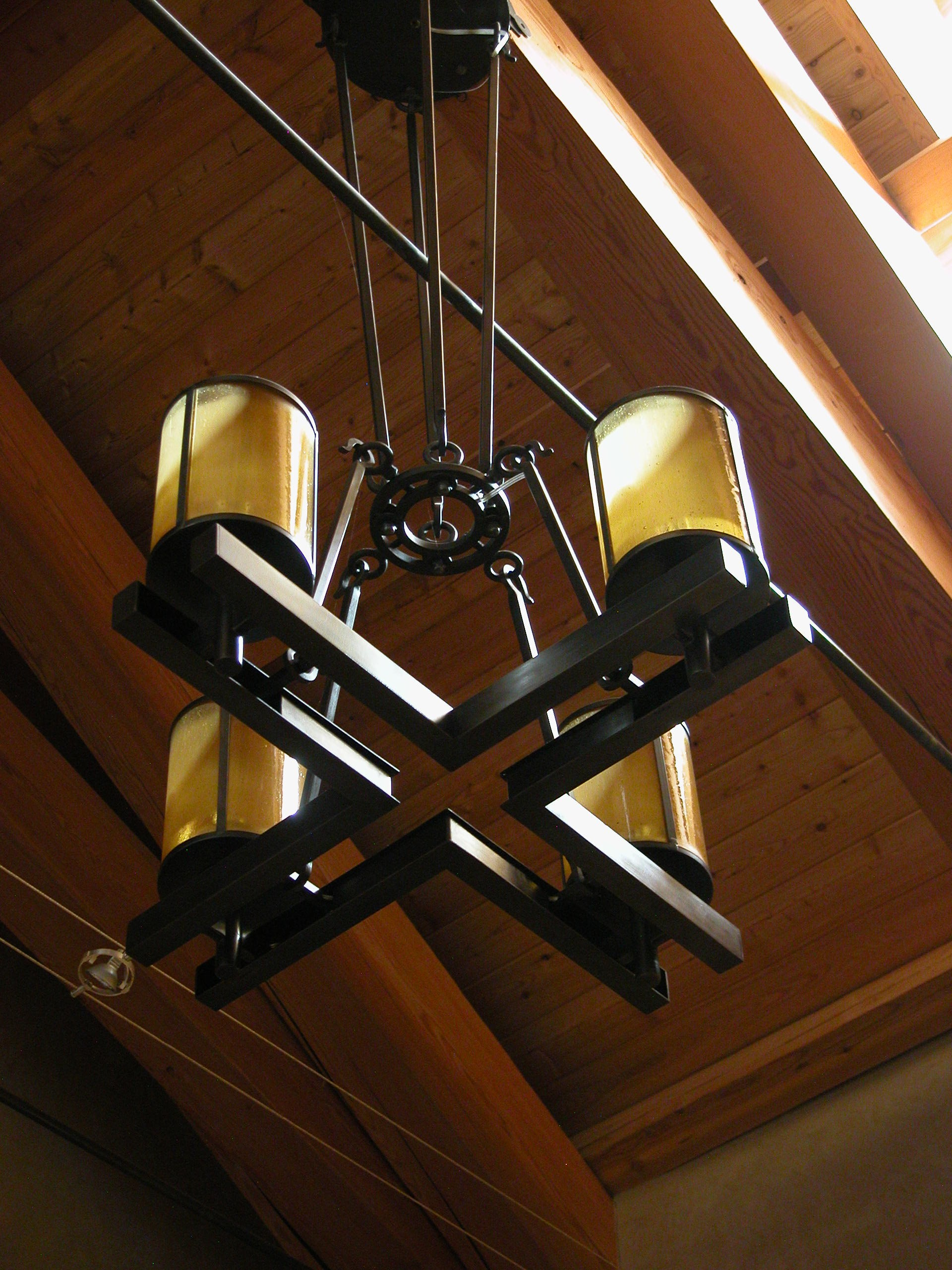Custom Lighting Cross Fixture