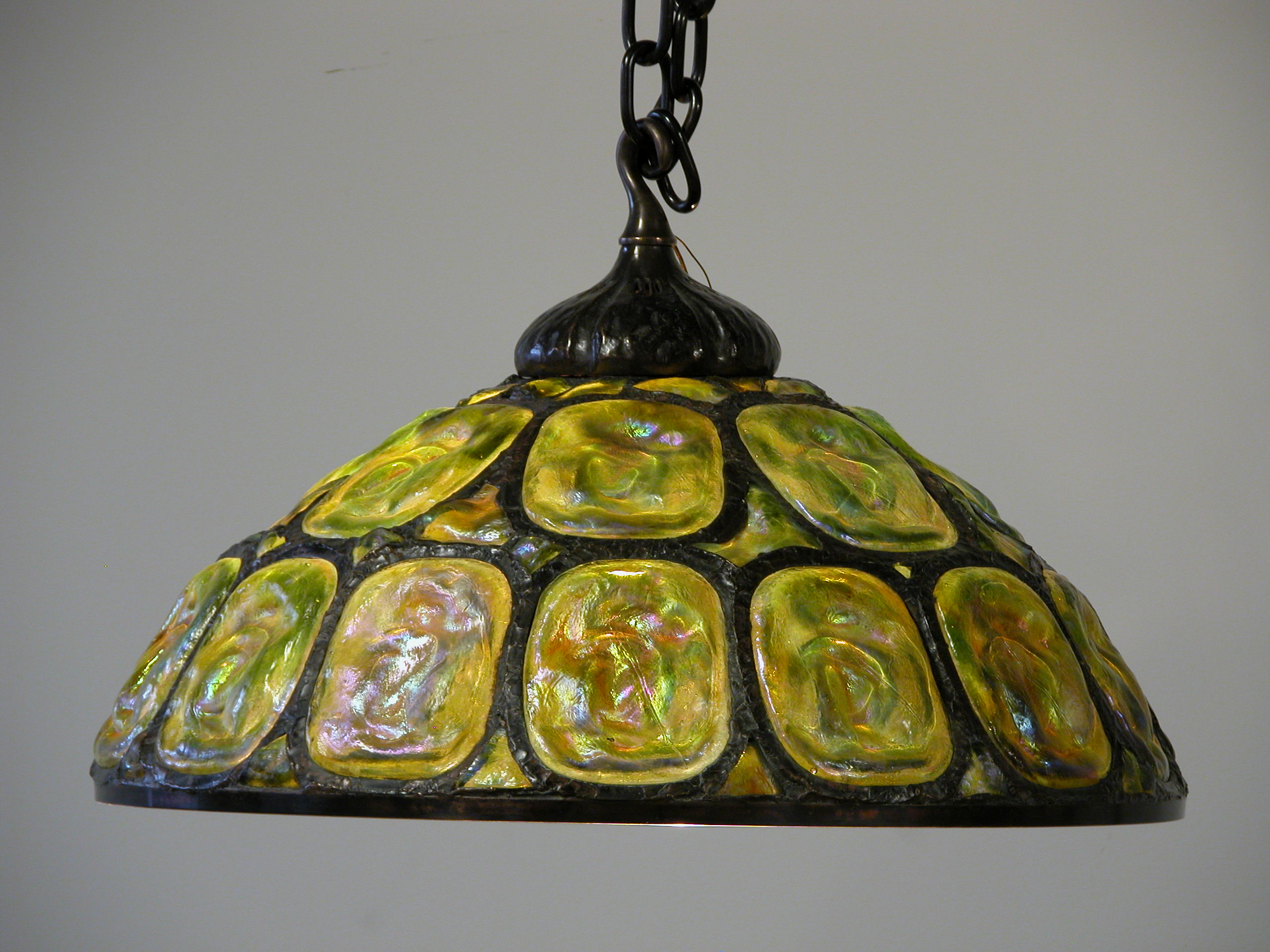 Custom Lighting Turtleback Chandelier