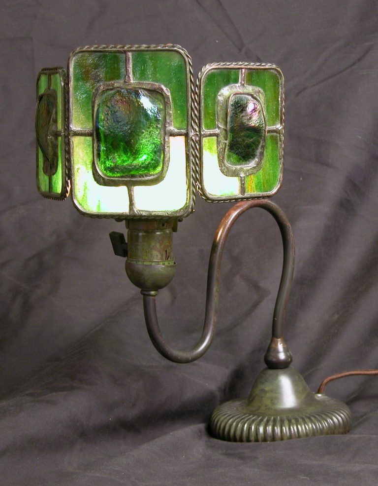 Custom Lighting Turtleback Screen Lamp