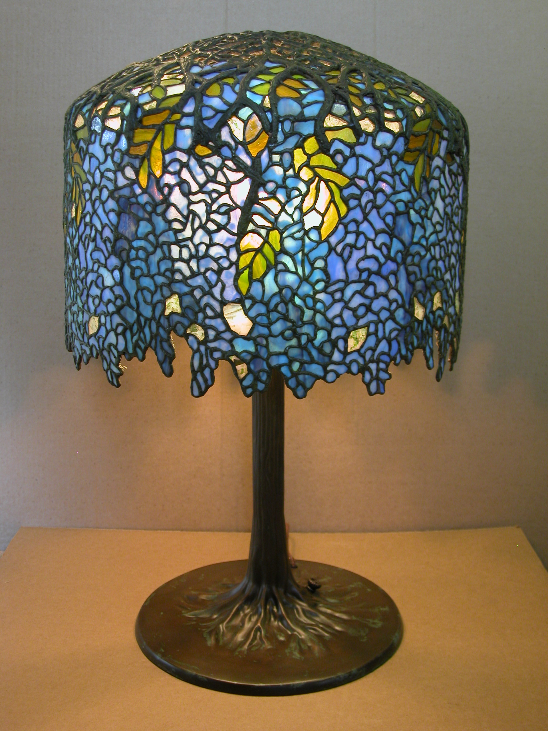 Custom Lighting Wisteria Lamp