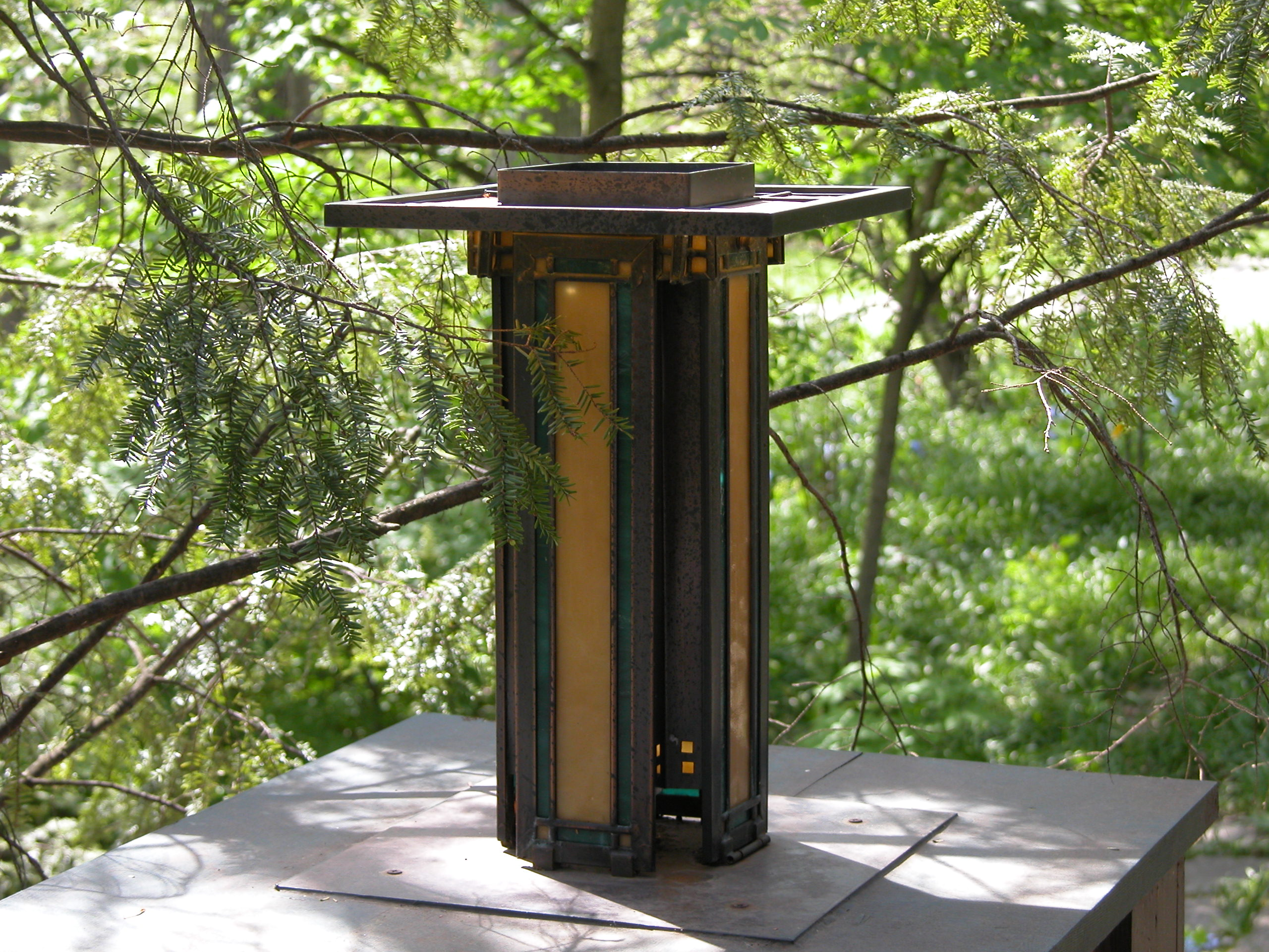 Custom Lighting Prairie Pier Lantern