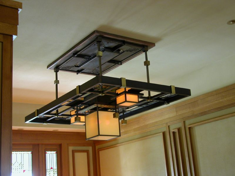Custom Lighting Grand Prairie Grille Fixture