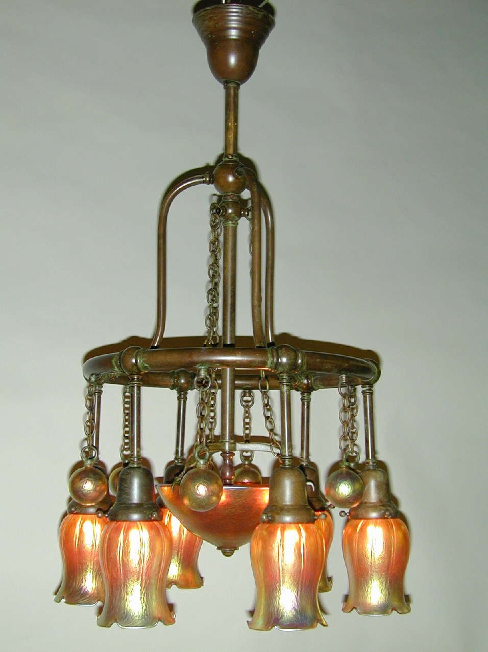 Custom Lighting Moorish Chandelier