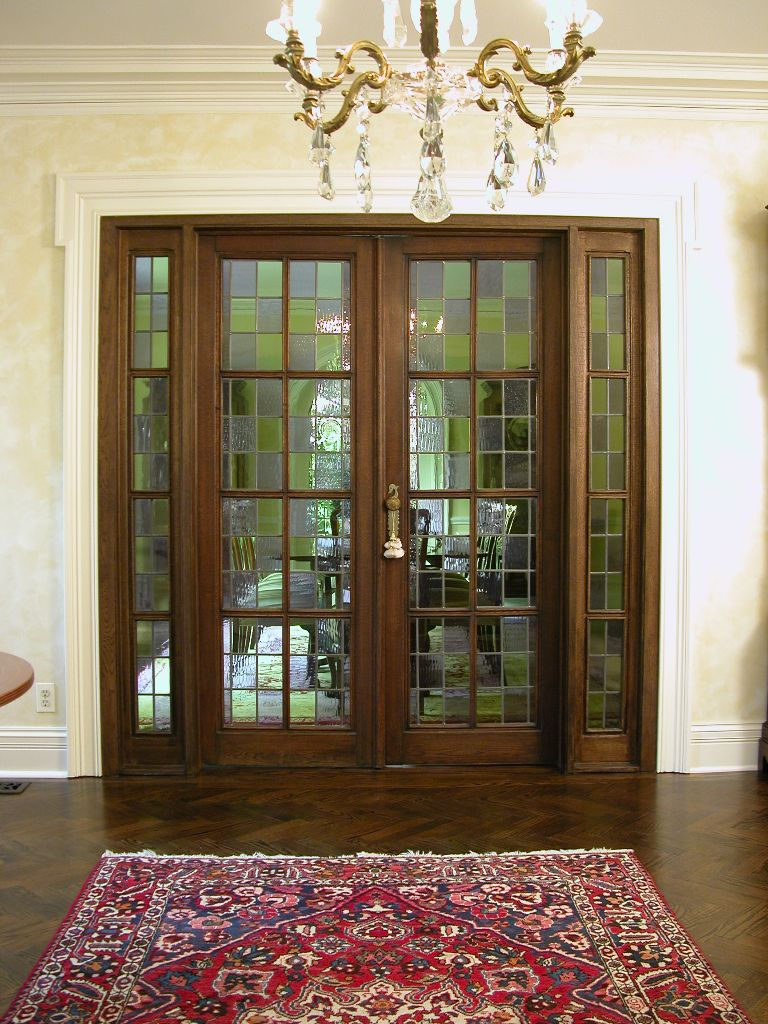 Doors And Windows. French Revival Dining Room Doors