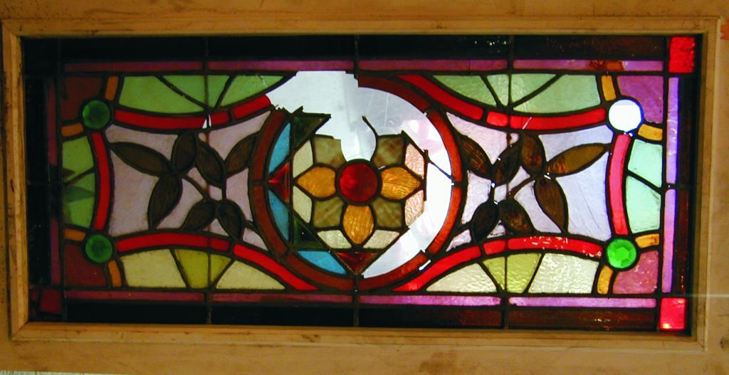 Stained Glass Window Restoration before 1