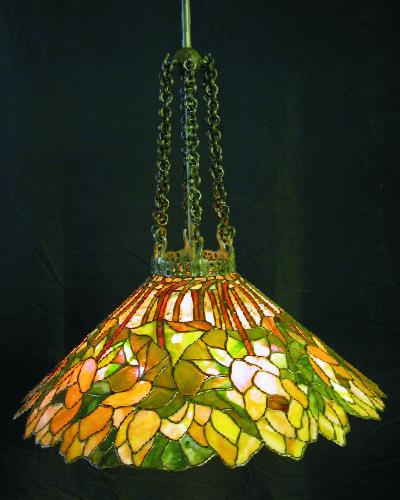 Custom Lighting Golden Lotus Chandeleir