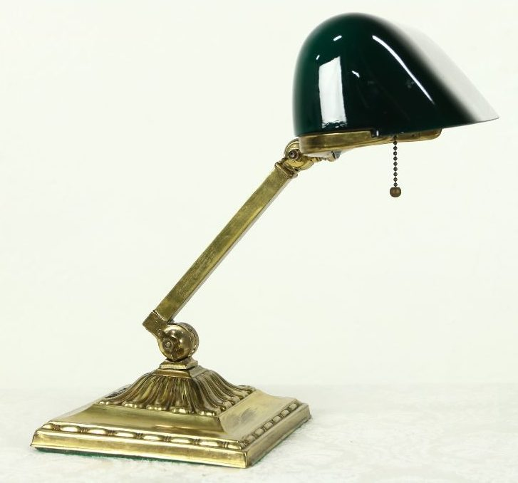Restored EmeraliteBankers Lamp