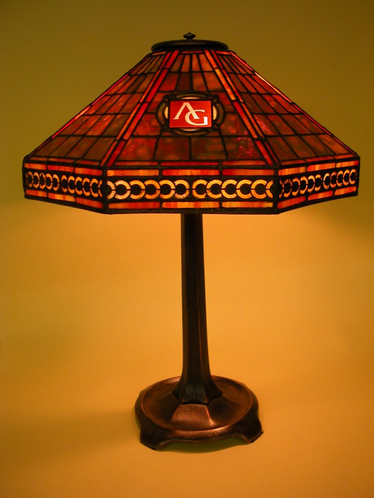 Custom Lighitng Tiffany Reproduction Harvard Lamp