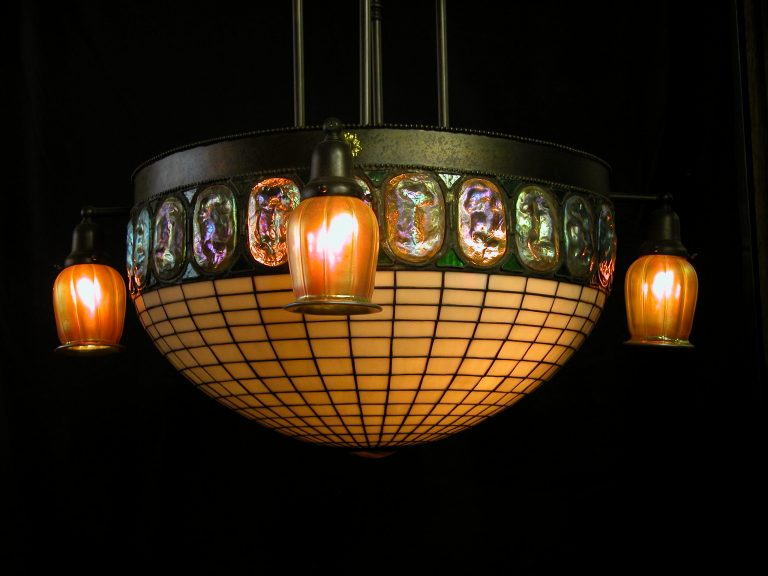 Custom Lighting Turtleback Dome Fixture