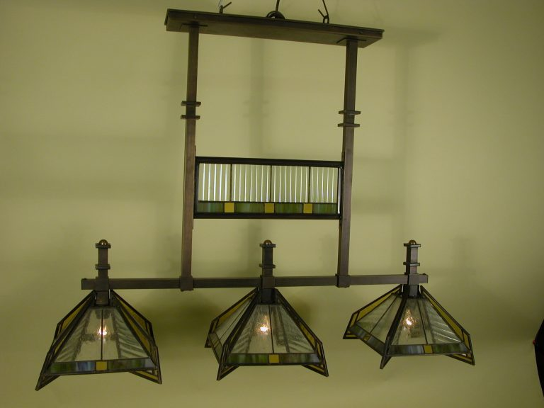 Pharaoh Triple Light Fixture